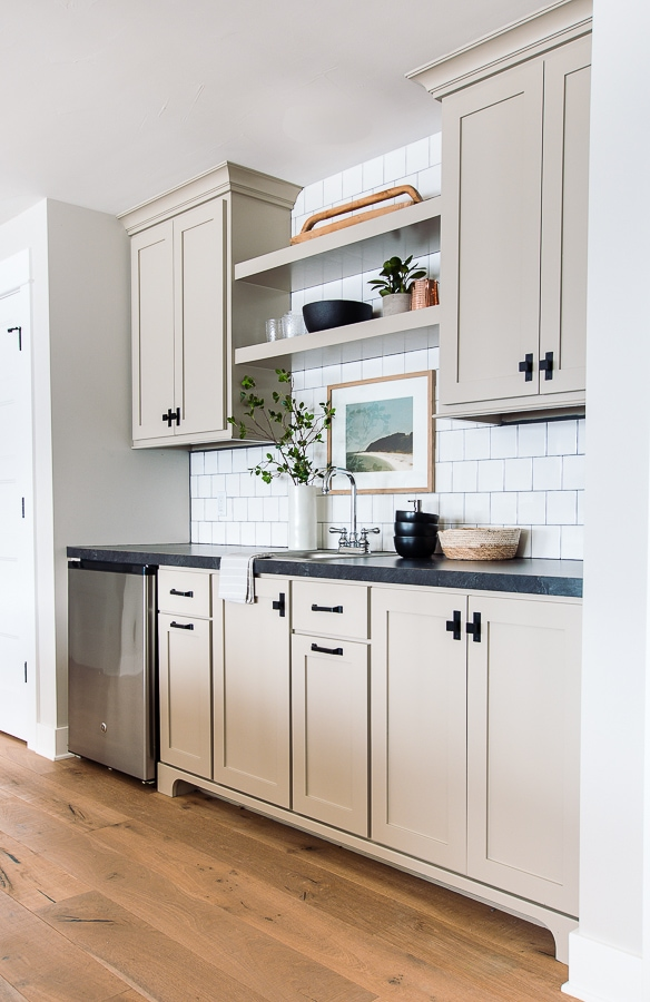 Putty Colored Cabinets And Cabinet Painting Tips The Lilypad Cottage