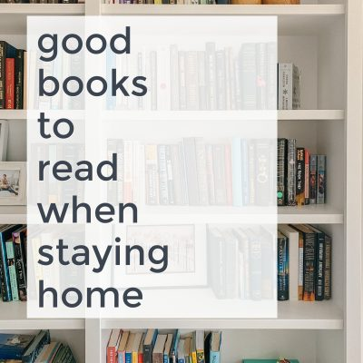Good Books I'm Reading