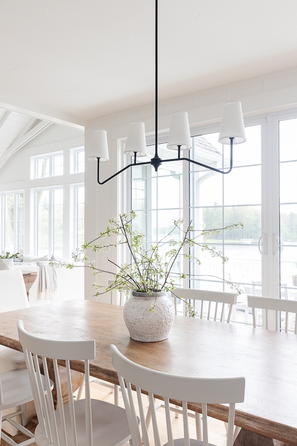 lake house dining room light fixture