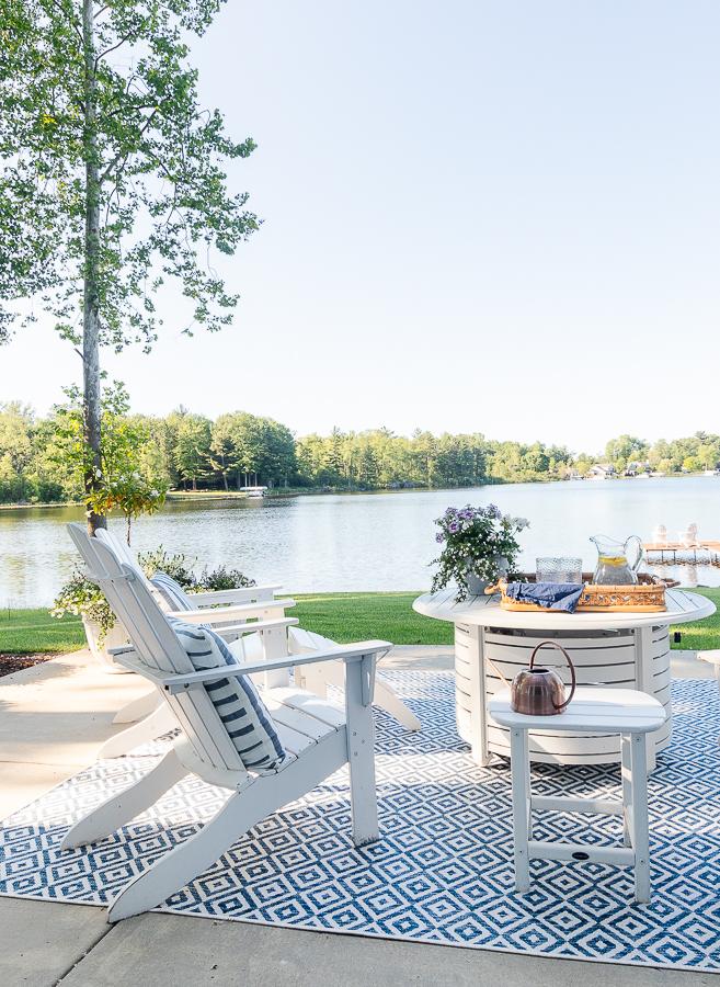 lake house patio furniture