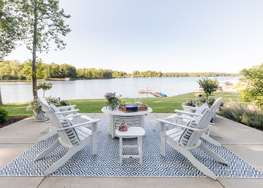 lake house patio furniture