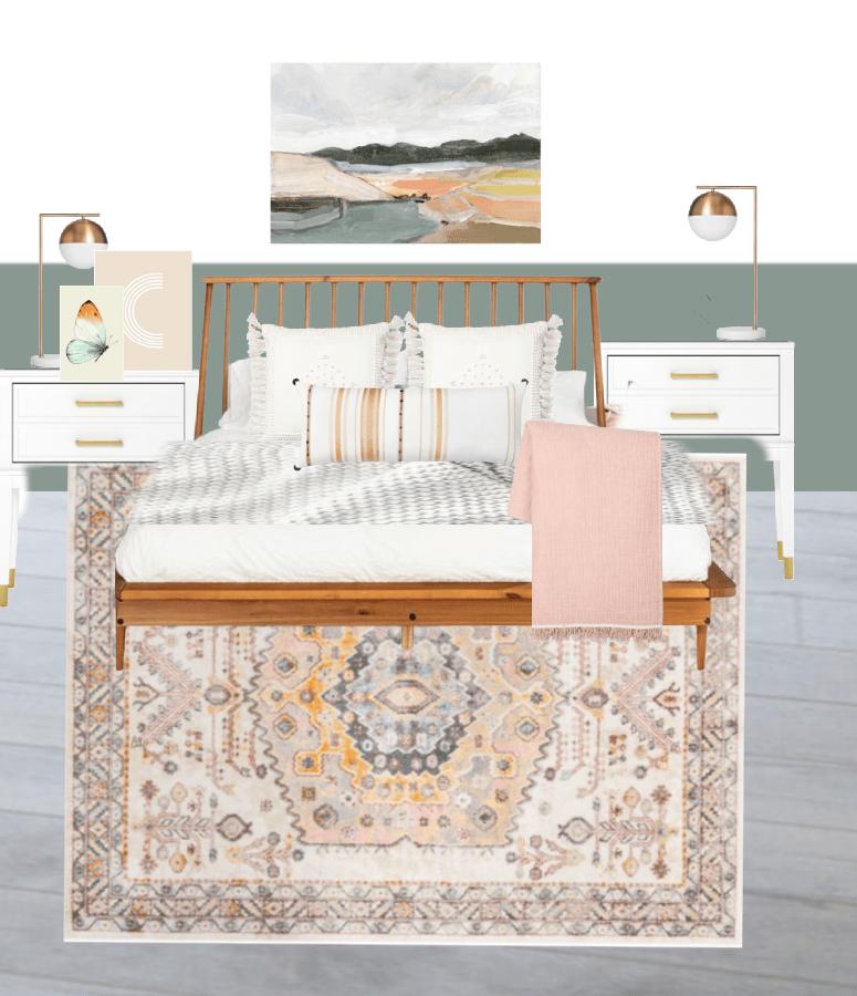 Tween Girl Bedroom Design Board