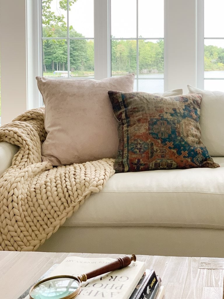 cozy fall throw pillows