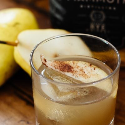 Pear Bourbon Cocktail