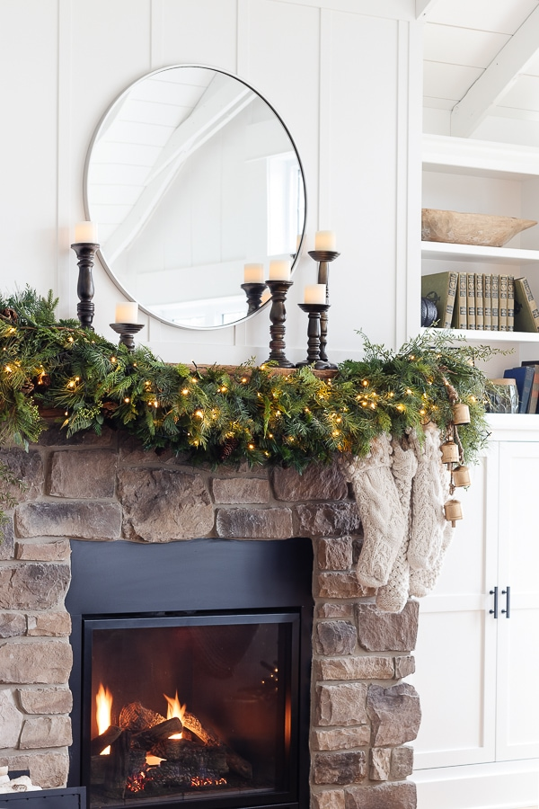 Christmas Mantel Garland