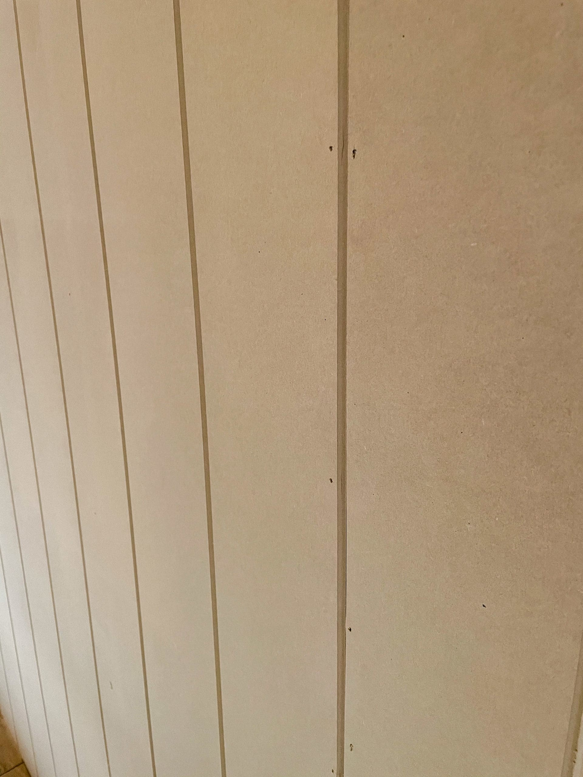 v groove paneling