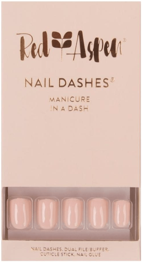 Red Aspen nail dashes