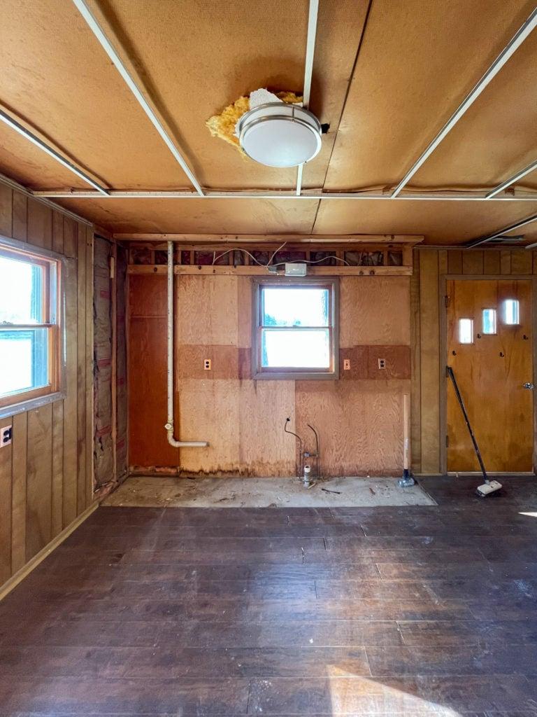 kitchen reno progress
