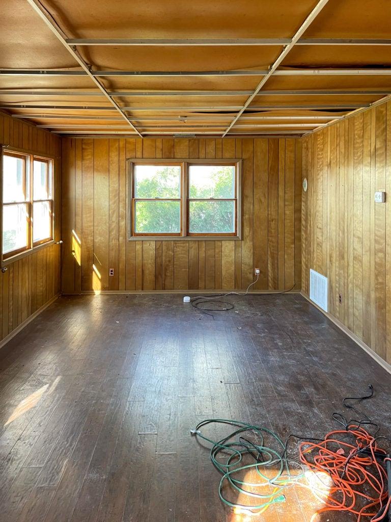 guest cottage renovation progress