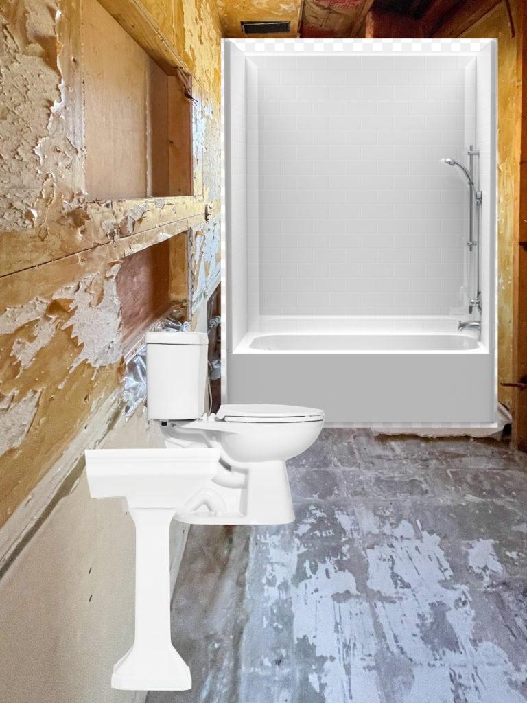 Bathroom renovation plans