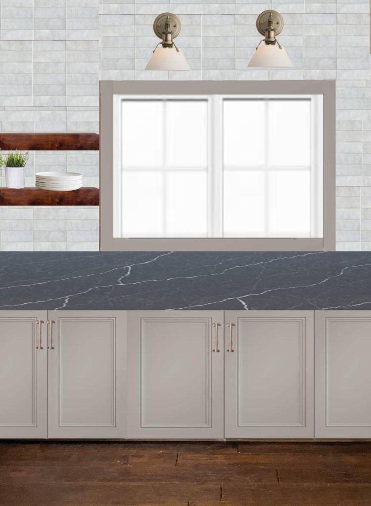 Cottage Kitchen Design Board
