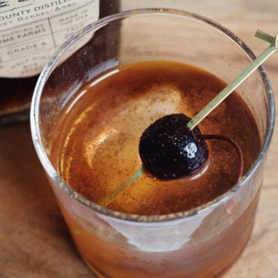 Bourbon Maple Manhattan Recipe